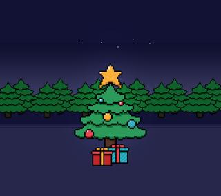 Обои на телефон каникулы, рождество, зима, дерево