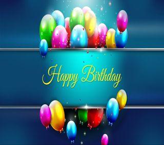 Обои на телефон шары, счастливые, пожелания, день рождения