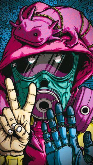 Обои на телефон крутые, граффити, аниме, dope