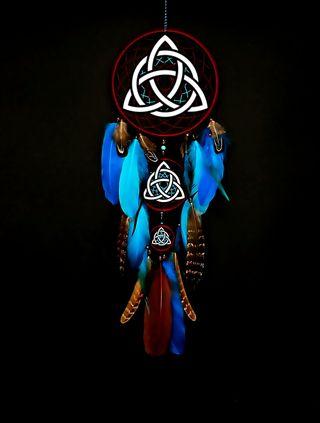 Обои на телефон языческий, ловец, кельтский, ведьма, witchcraft, wiccan, triquetra catcher