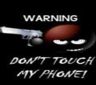 Обои на телефон экран, предупреждение, оружие, забавные, блокировка, warning lock screen