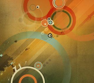 Обои на телефон цветные, ретро, приятные, крутые, классные, дизайн, абстрактные