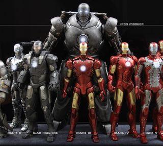 Обои на телефон железный, марвел, marvel, iron man suits