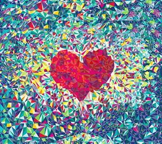 Обои на телефон мозаика, сердце, романтика, поцелуй, милые, любовь, кристалл, красые, валентинка, бриллиант, s4, note, love heart crystal, htc