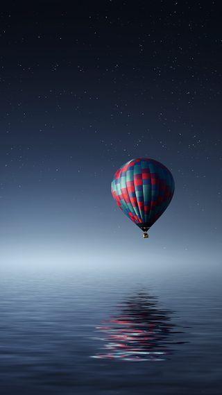 Обои на телефон шары, море, air