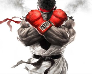 Обои на телефон улица, боец, street fighter v ryu, street fighter v, street fighter - ryu, street fighter