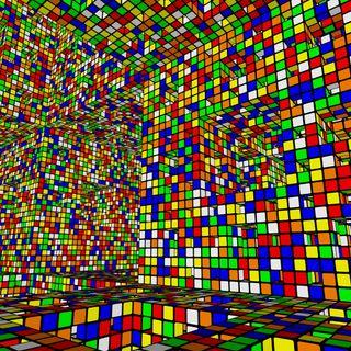 Обои на телефон куб, xf, ul, rubiks cube