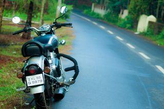 Обои на телефон путь, мотоциклы, дорога, байк, royal enfield, royal enfiled, motor, bullet