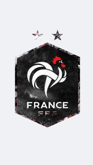 Обои на телефон икона, футбол, франция, логотипы, дизайн, fff