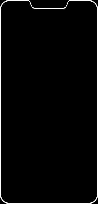 Обои на телефон выемка, грани, белые, асус, zenfone 5z wallpaper, zenfone 5z, zenfone 5, zenfone, white edge, notch edge wallpaper, asus zenfone