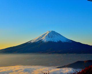 Обои на телефон холм, природа, небо, мото, лучшие, крутые, классные, mount fugi, moto g, hd, 4k, 1080p