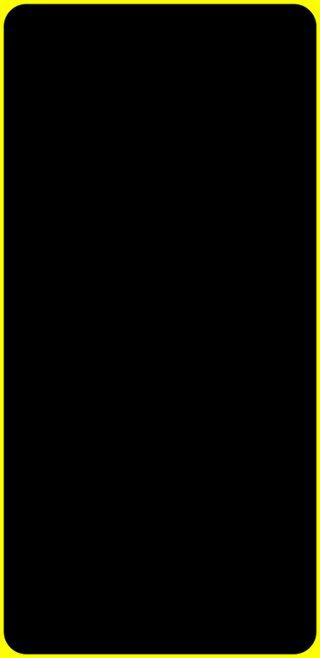 Обои на телефон черные, освещение, желтые, грани, амолед, s9 plus, s9, led, edge lighting yallow, amoled