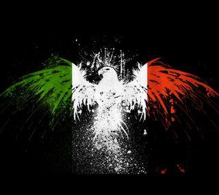 Обои на телефон италия, флаг