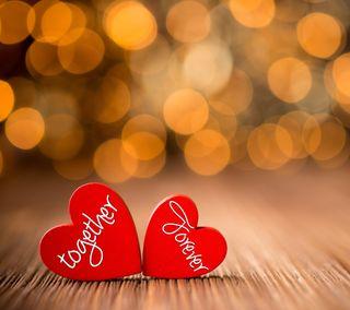 Обои на телефон навсегда, цитата, романтика, поговорка, любовь, вместе, влюблен, love