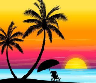Обои на телефон солнечный свет, природа, пляж, абстрактные