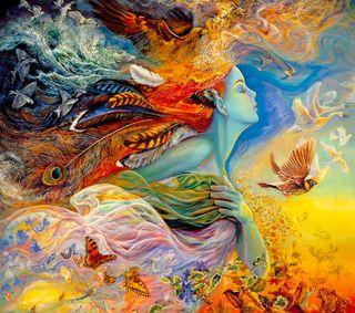 Обои на телефон фантазия, fantasty wallpaper