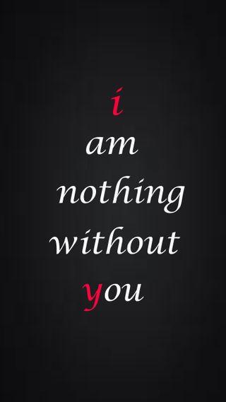 Обои на телефон себя, я, ты, скучать, поцелуй, ничего, любовь, without, love, i am nothing, i am nithing