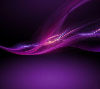 Обои на телефон сони, фиолетовые, xperia z, xperia, sony