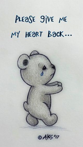 Обои на телефон эмо, тедди, сломанный, слеза, сердце, рисунки, пожалуйста, повредить, мультфильмы, милые, медведь, любовь, животные, грустные, высказывания, арт, love, heart back bear, cry, art