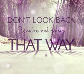Обои на телефон путь, не, взгляд, that, dont look back, back