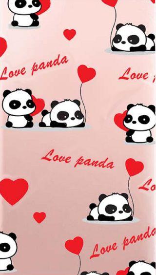 Обои на телефон панда, милые