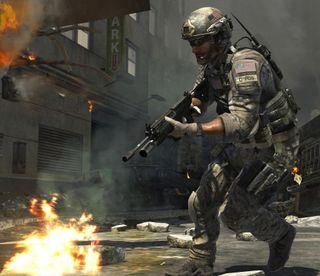 Обои на телефон солдат, оружие, война, shotgun, call of duty