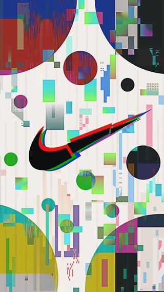 Обои на телефон сбой, эффект, фиолетовые, спортивные, синие, найк, крутые, красые, зеленые, адидас, nike, glitch effect, adidas