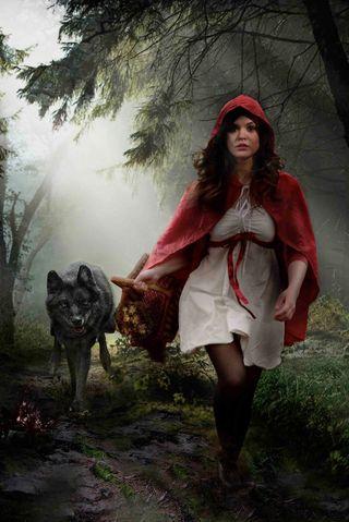 Обои на телефон женщины, девушки, волк