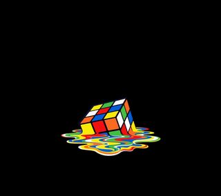 Обои на телефон куб, цветные, крутые, красочные, rubiks cube, rubics, rubic, melting, melt