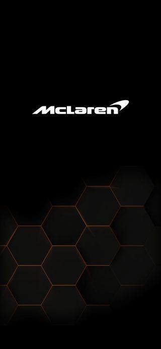 Обои на телефон макларен, oneplus7tpro, oneplus, mclaren, hexagonal