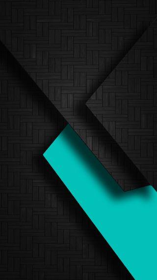 Обои на телефон черные, треугольники, супер, синие, дизайн, абстрактные, s7