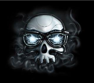 Обои на телефон hset, jrstj, skull glasses, череп, очки