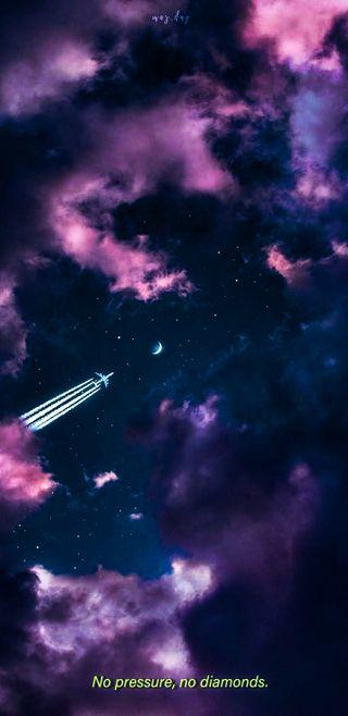 Обои на телефон эстетические, цитата, фиолетовые, темные, розовые, галактика, tumblr, nightsky, galaxy, aestheticedits