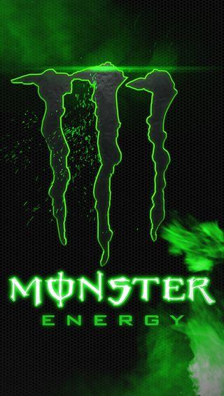 Обои на телефон энергетики, логотипы, monster energy, monster, energy logo
