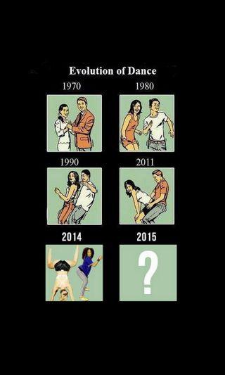 Обои на телефон эволюция, танец, years