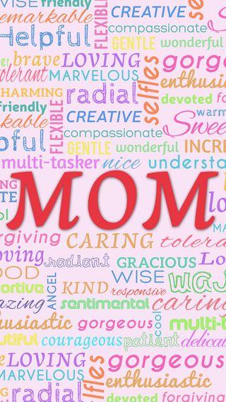 Обои на телефон семья, слова, матери, мамочка, мама, любовь, день, mom words, love
