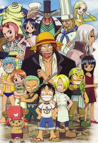Обои на телефон банда, аниме, one piece gang