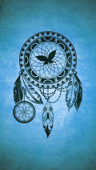 Обои на телефон племенные, тату, перо, паук, мечта, ловец снов, ловец, бабочки