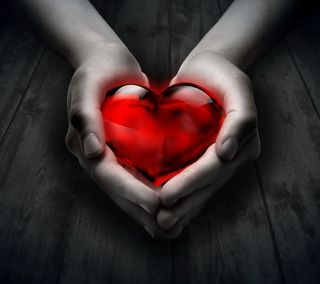 Обои на телефон red love, любовь, красые, сердце, фон, руки