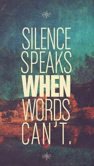 Обои на телефон тишина, цитата, слова, поговорка, крутые, высказывания, speaks