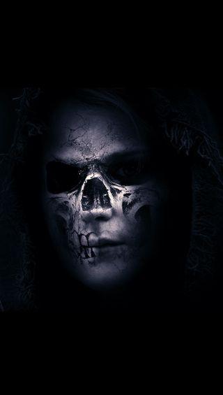 Обои на телефон страшные, череп, scary skull, gsdf