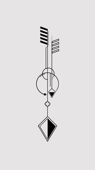 Обои на телефон art, zedgetat1, geometric tattoo, крутые, дизайн, арт, тату, хипстер, геометрические, чернила, панк, татуировки
