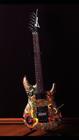 Обои на телефон змея, музыка, гитара, snake guitar