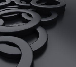 Обои на телефон металлические, черные, фон, дизайн, абстрактные, design background, black metallic