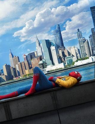 Обои на телефон фильмы, паук, мстители, возвращение домой, spider man, man, hd