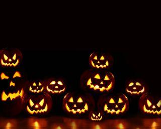 Обои на телефон темные, счастливые, свет, хэллоуин, готические, тыква, жуткие