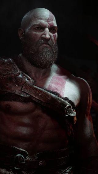 Обои на телефон кровь, черные, старые, кратос, красые, война, викинг, бог, ps, old kratos