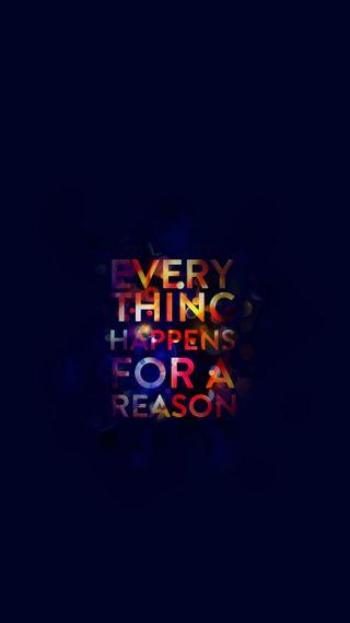Обои на телефон причина, for a reason, everything happens