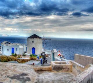 Обои на телефон греция, природа, greece2019