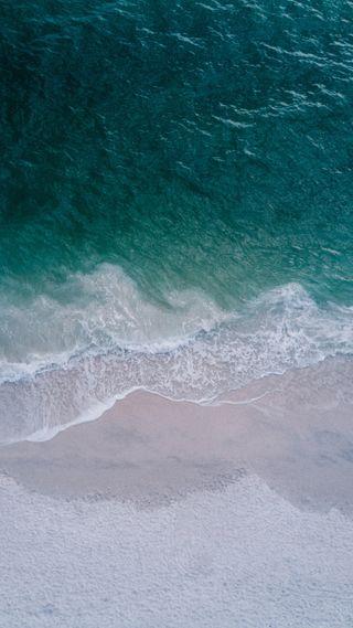 Обои на телефон хуавей, фотография, фон, про, природа, пляж, морской берег, волны, p20 pro, huawei p20 pro, huawei